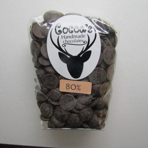 80% dark chocolate