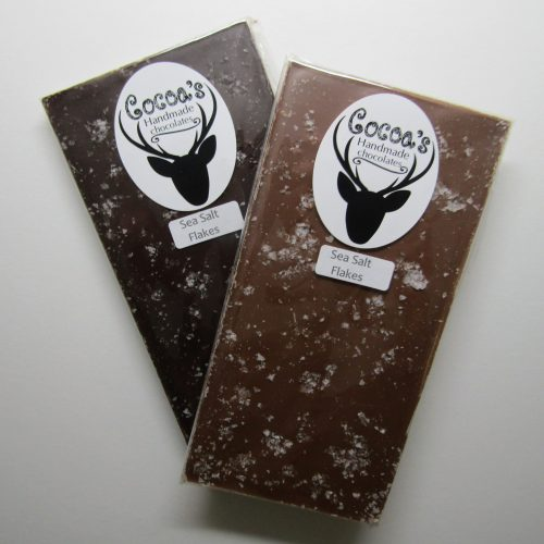 Maldon sea salt flake chocolate bars